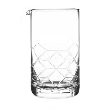Asanoha™ Mixing Glass, Seamless, Large
