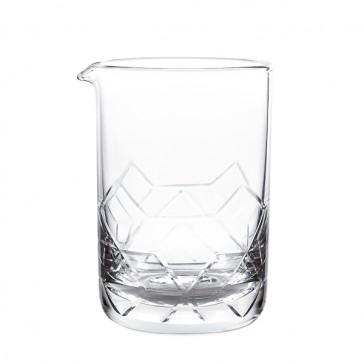 Asanoha™ Mixing Glass, Seamless