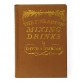 The Fine Art of Mixing Drinks - Leather Bound Edition